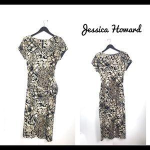 Jessica Howard Wrap Style Dress